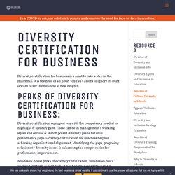 Diversity Certification for Business - Go Culture International