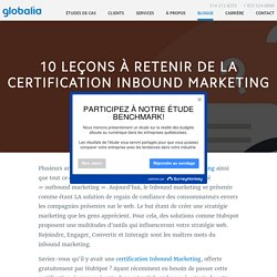 10 leçons à retenir de la certification Inbound Marketing
