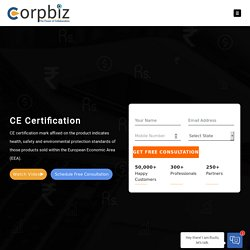 Online CE Certification in India