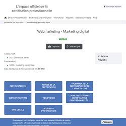 Webmarketing - Marketing digital