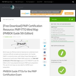 [Free Download] PMP Certification Resource: PMP ITTO Mind Map (PMBOK Guide 5th Edition) - PMP Exam, PMI-ACP, ITIL Certification Best Resources