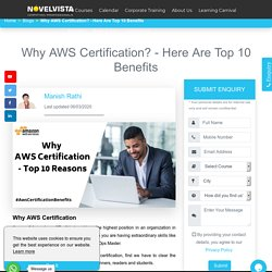 Why AWS Certification - Top 10 Reasons[with Statistics]