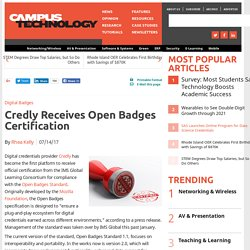 Credly Receives Open Badges Certification