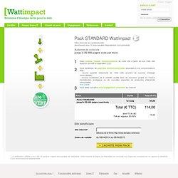 Pack green IT de base, certification green it - Calculer energie site web - Wattimpact