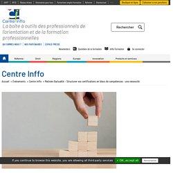 Matinée d'actualité - Structurer vos certifications en blocs de compétences : une nécessité