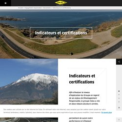Colas : Indicateurs et certifications - Leader mondial de la construction de routes