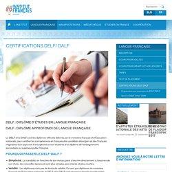Certifications DELF/ DALF