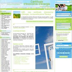 C2E, Les certificats d'économie d'énergie : la nouvelle prime Travaux