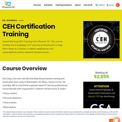 Certified Ethical Hacking (CEH) Certification Training & Courses