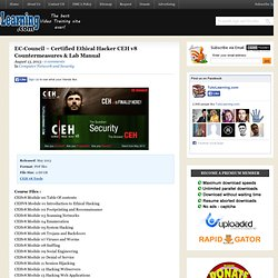CEH v10 : Certified Ethical Hacker v10 PDFs, Tools, LAB ...