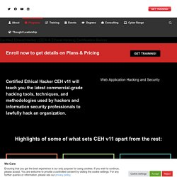Certified Ethical Hacker (CEH) - EC-Council