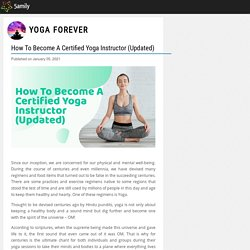 How To Become A Certified Yoga Instructor (Updated) - Yoga Forever - 5amily