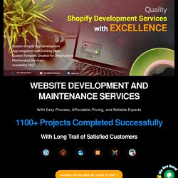 Connect With Certified Developers to Upgrade Your Shopify Store