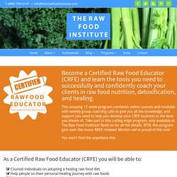 Certified Raw Food Educator