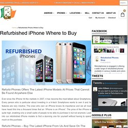 Certified Refurbished iPhones Ireland