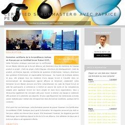 Certified ScrumMaster® avec Patrice Petit