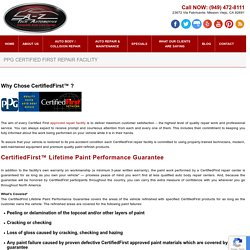 PPG Certified Auto Repair and Service