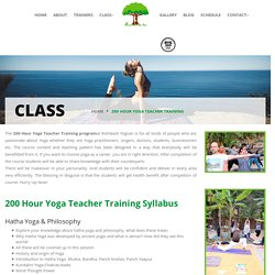 Join Certified 200 Hours Yoga Teacher Training Course in Rishikesh, India