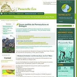Cours certifiés de Permaculture en Bretagne -