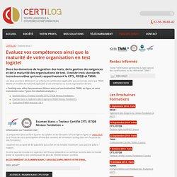 CERTILOG - Test logiciel et systèmes d'information, CFTL ISTQB certificationCERTILOG