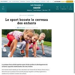 Le sport booste le cerveau des enfants
