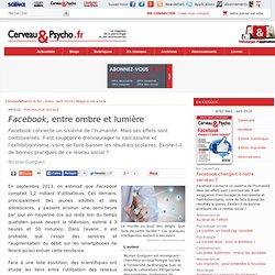 Facebook, entre ombre et lumière
