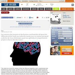 Les cerveaux des hommes et des femmes sont branchés très différemment | Fil info Styles