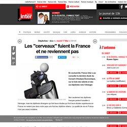 """Les """"cerveaux"""" fuient la France et ne reviennent pas"""