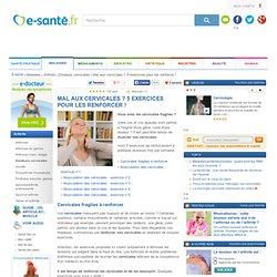 Mal aux cervicales : exercices pour renforcer les cervicales