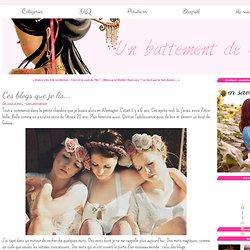 Ces blogs que je lis... - Un battement de Sil... ♡ Beauté & Cie !