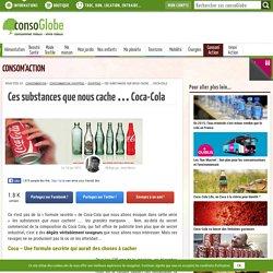 Ces substances que nous cache … Coca-Cola
