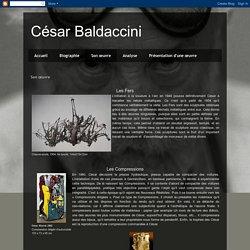 César Baldaccini: Son œuvre