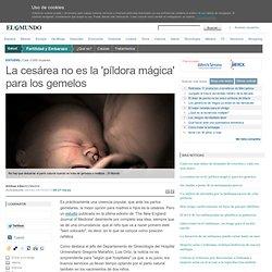 La cesárea no es la 'píldora mágica' para los gemelos