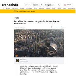 Les villes ne cessent de grossir, la planète en surchauffe