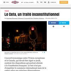 Le Ceta, un traité inconstitutionnel