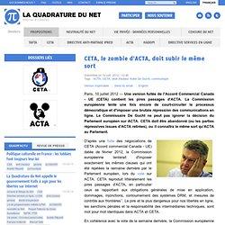 CETA, le zombie d'ACTA, doit subir le même sort
