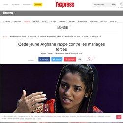 Cette jeune Afghane rappe contre les mariages forcés