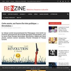 Cette année, un Fauve d'or très politique : « Révolution »
