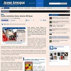 Cette semaine dans Jeune Afrique