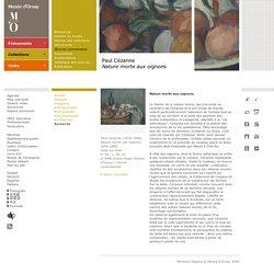 Paul Cézanne Nature morte aux oignons