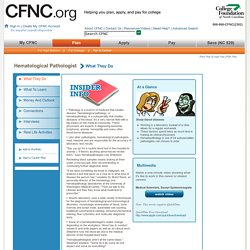 CFNC.org - Career Profile