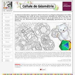 Cellule de géométrie