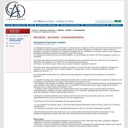 CGAD 18/11/11 Dérogation d'agrément sanitaire