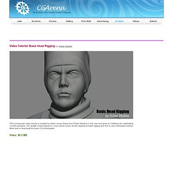 Video Tutorial - Basic Head Rigging in 3ds max