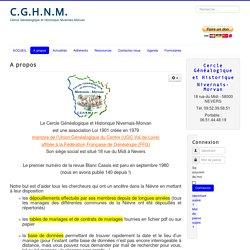 CGHNM - A propos