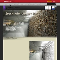 Stockholm Library Interior