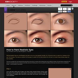 Tutorial: How to Paint Realistic Eyes