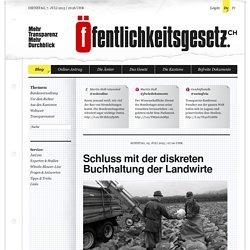 Öffentlichkeitsgesetz.ch