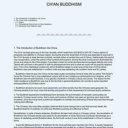 Ch'an Buddhism