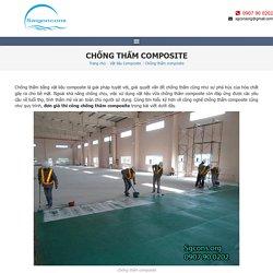 Báo giá quy trình chống thấm bằng composite